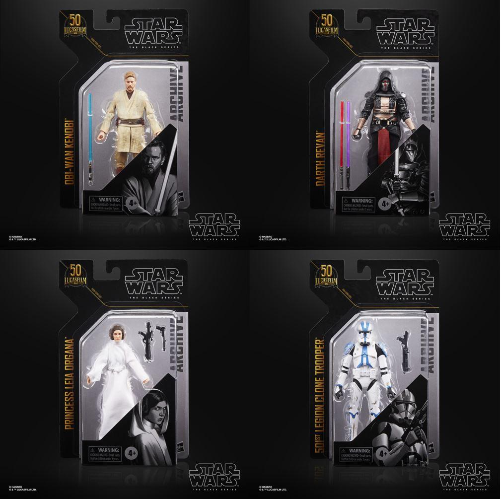 Star Wars The Black Series Archive Figures 15cm Assortment (4) Wave 3  F09615L02 F09615L02 5010993813445