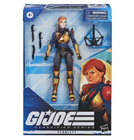 G.I. Joe Classified Series Scarlett 15cm Actionfigur E8495  5010993662432