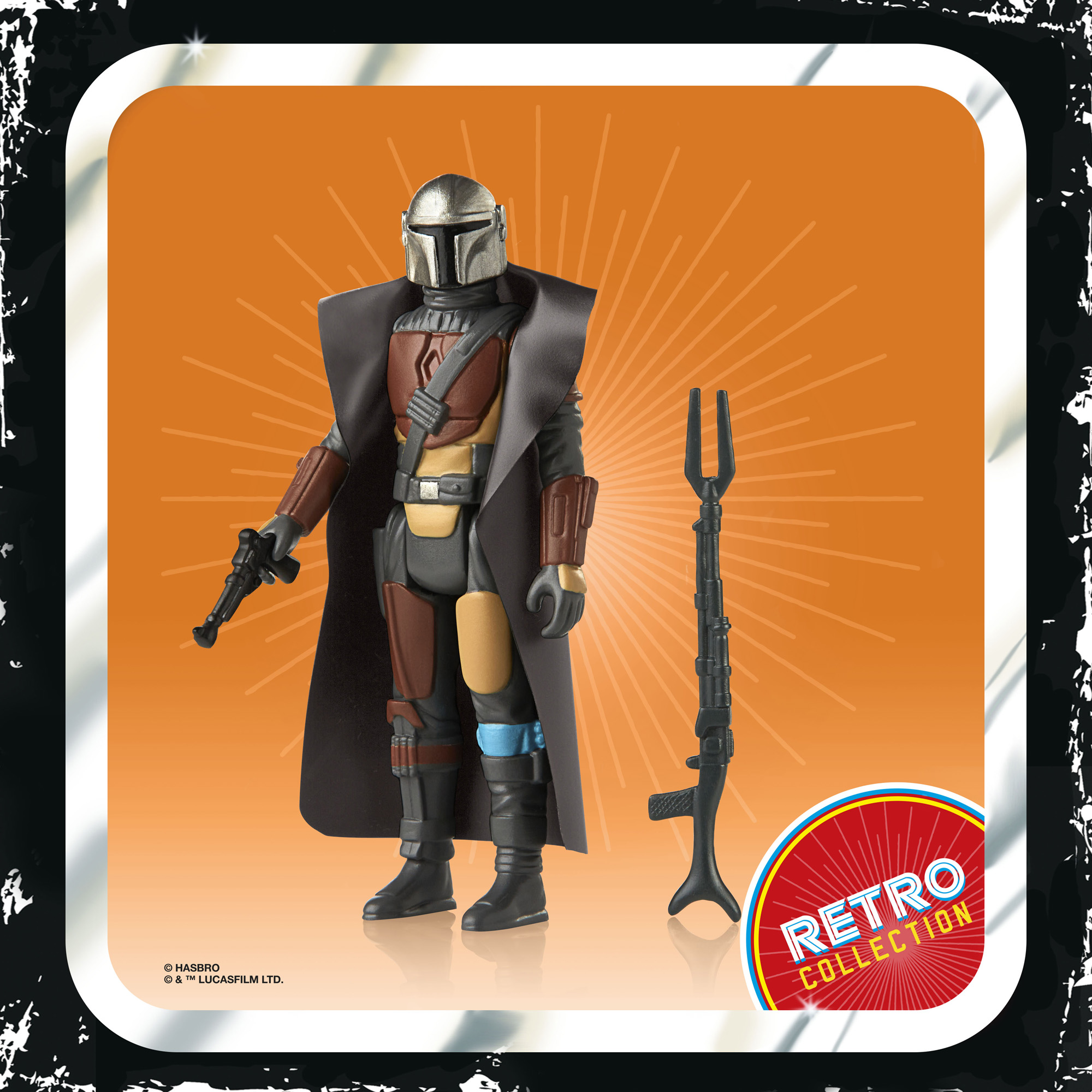 Star Wars The Mandalorian The Retro Collection The Mandalorian Action Figure F20195L00 5010993809073