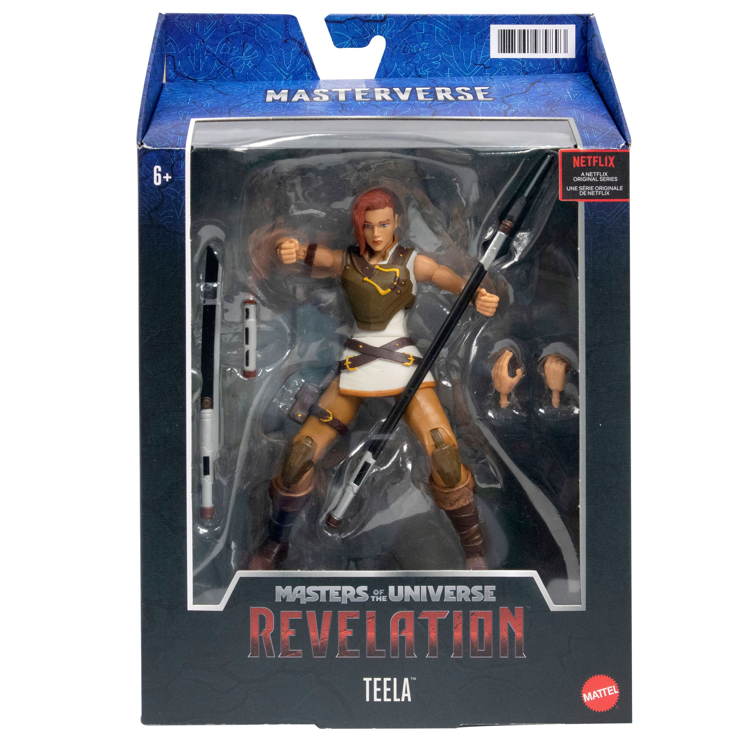 Masters of the Universe: Revelation Masterverse Actionfigur 2021 Teela 18 cm MATTGYV15 0887961979893