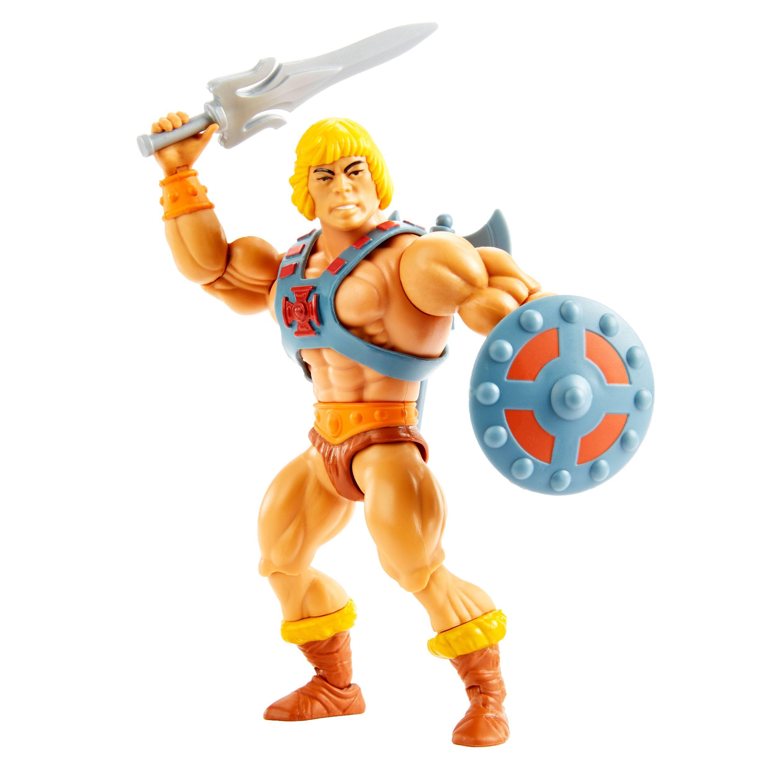 Masters of the Universe Origins Actionfigur 2021 Classic He-Man 14 cm MATTHGH44 0194735049110