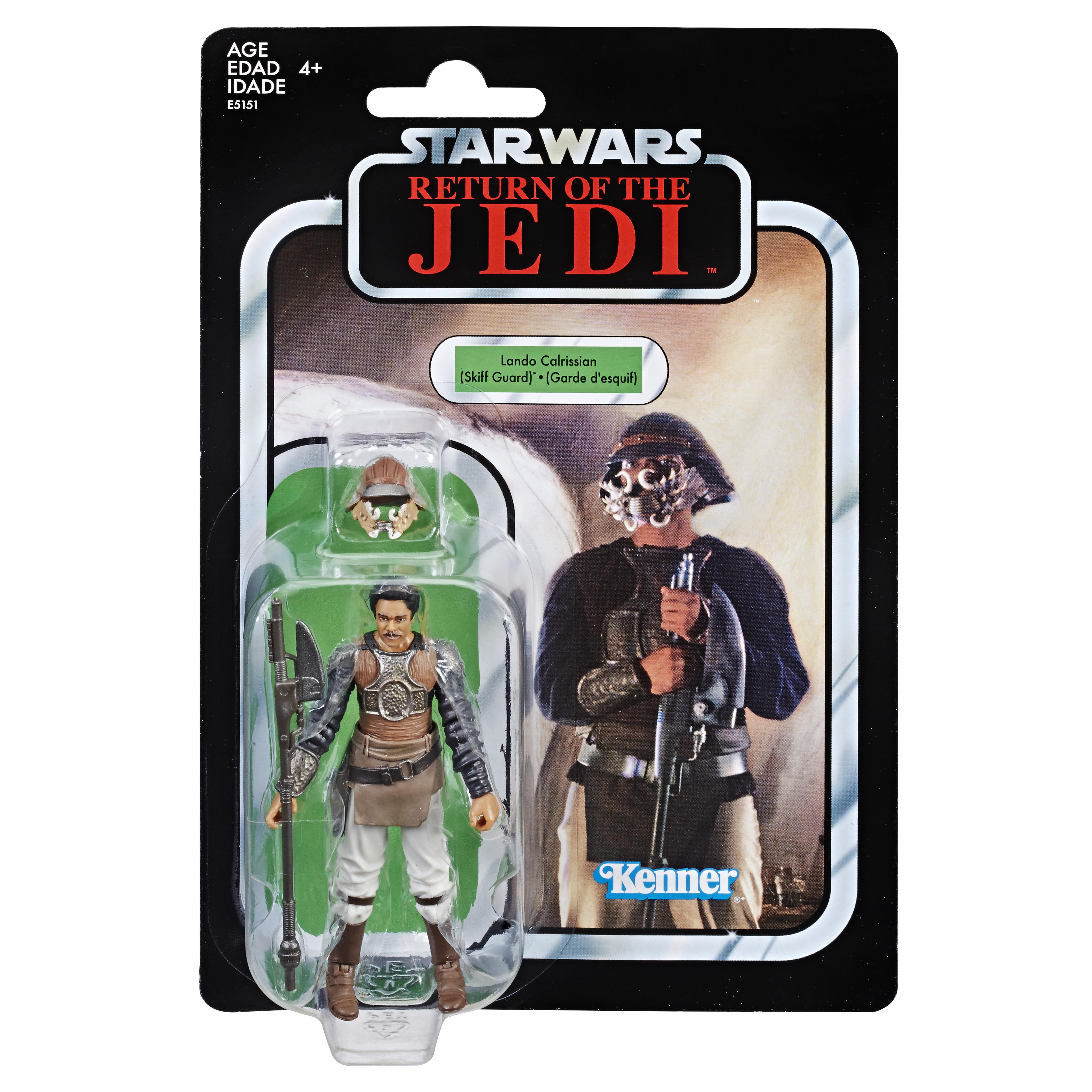Star Wars Vintage Collection Lando Calrissian (Skiff Guard) Exclusive 10 cm E5151 5010993604890