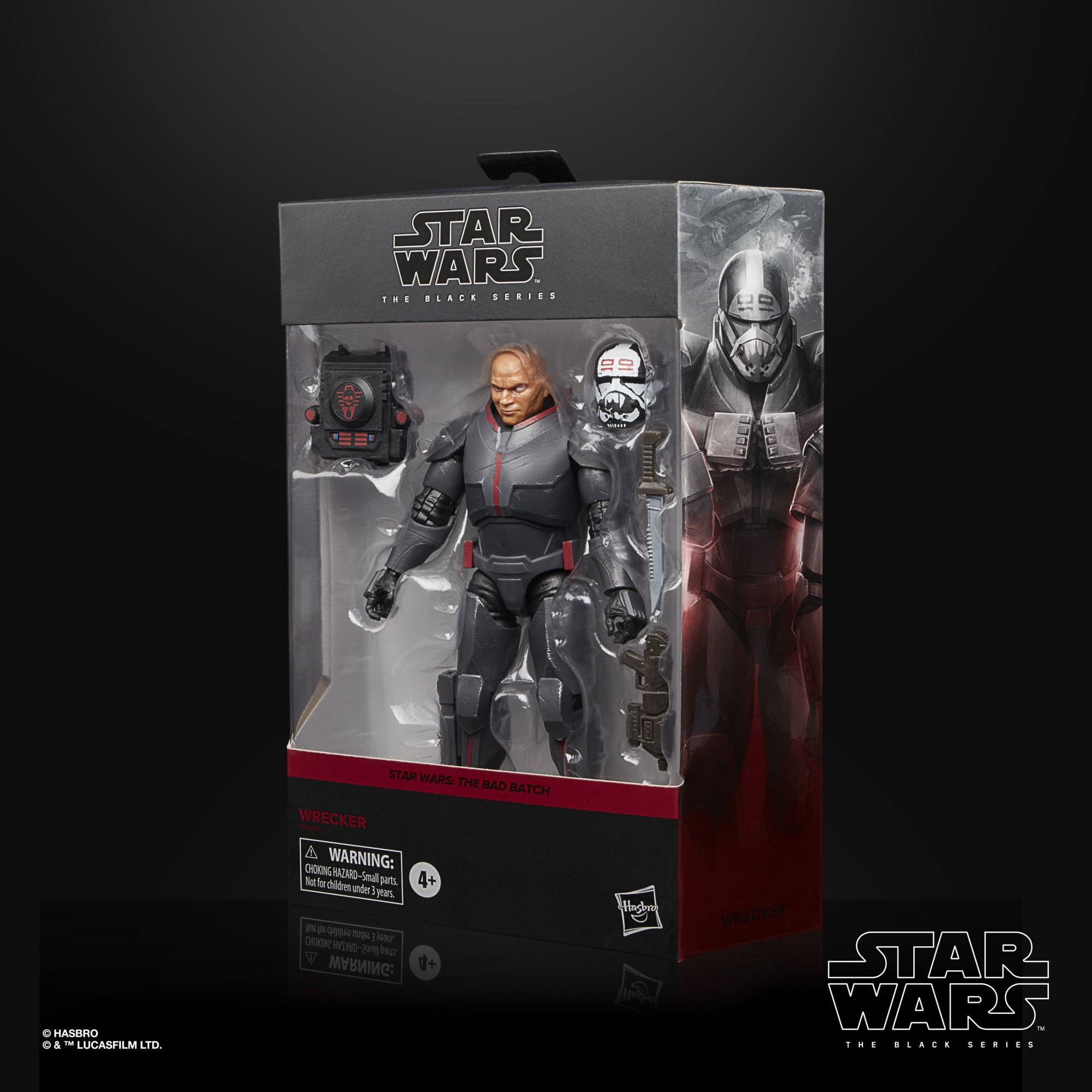 Star Wars The Black Series Bad Batch Wrecker 15cm Actionfigur F06305L00 5010993873739