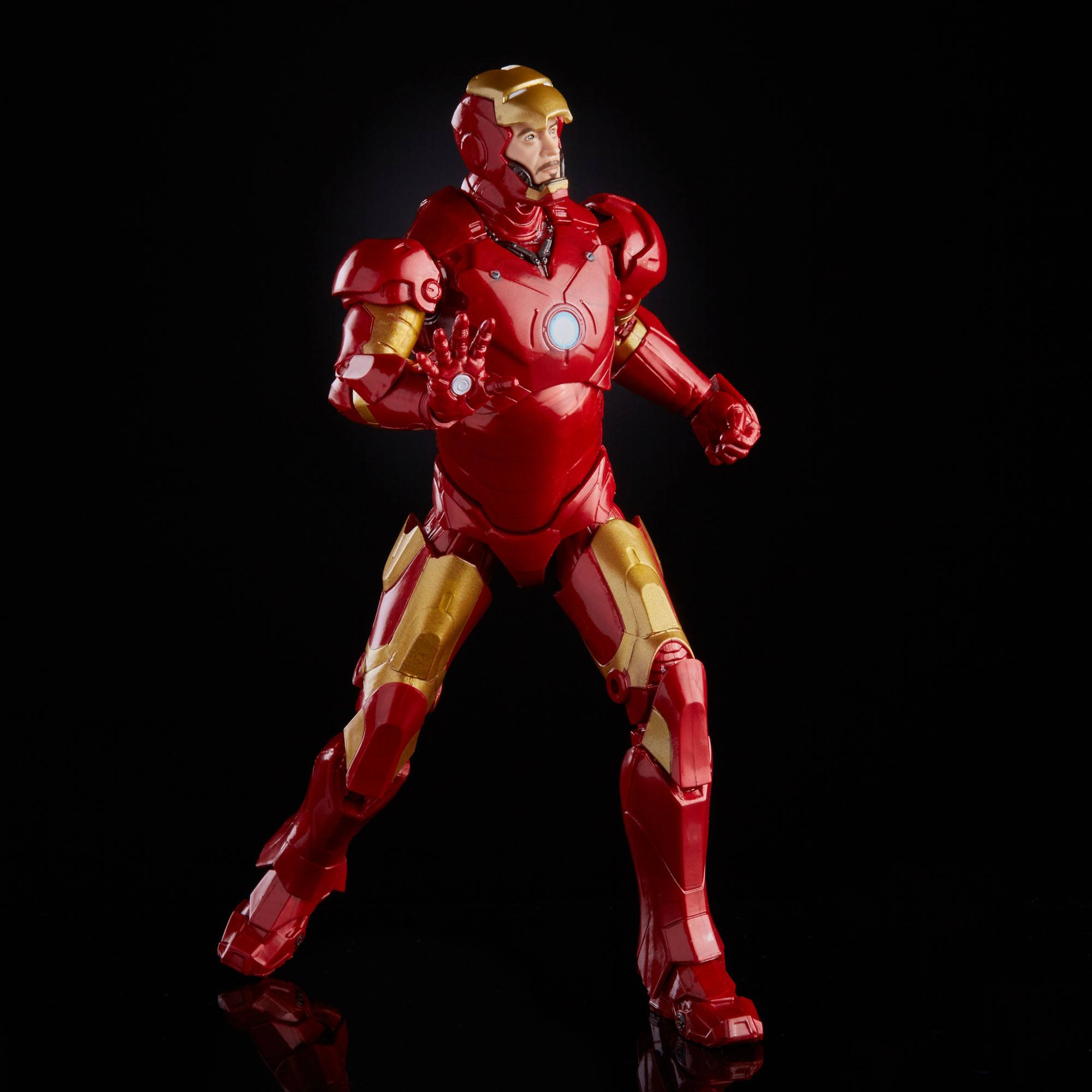 The Infinity Saga Marvel Legends Series Actionfigur 2021 Iron Man Mark III (Iron Man) 15 cm F01845L00 5010993839155