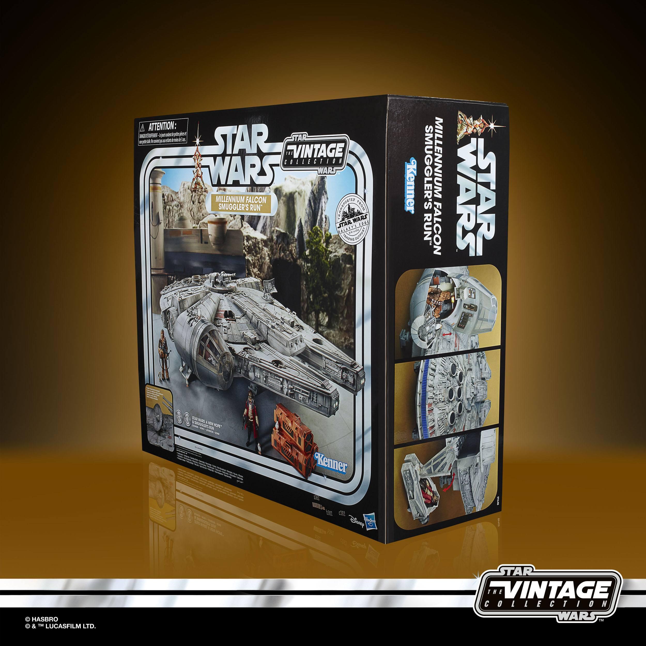 Star Wars Galaxy's Edge Vintage Collection Fahrzeug Millennium Falcon Smuggler´s Run HASE9648  05010993738625