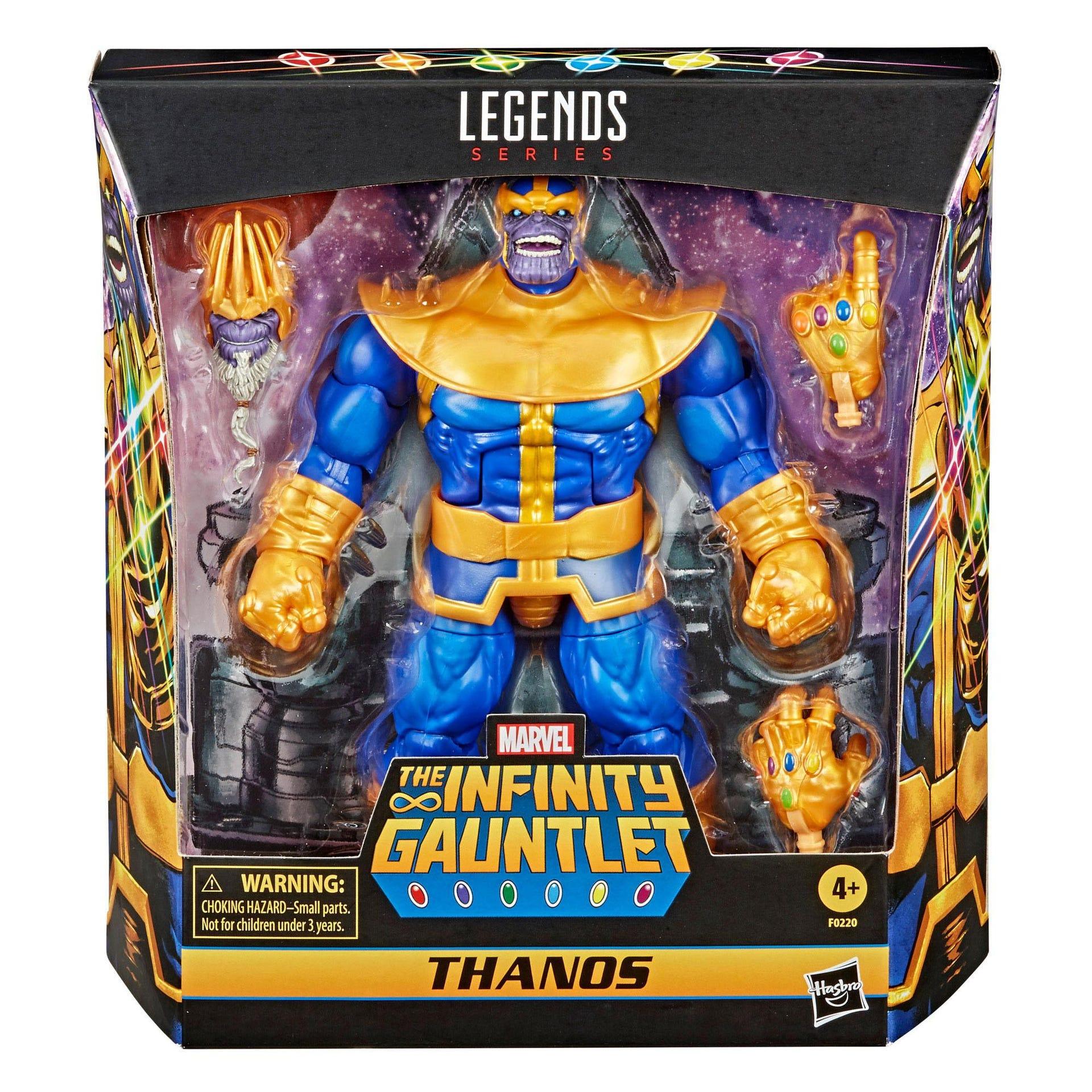 Marvel Legends Series Actionfigur 2021 Thanos 18 cm F02205L00 5010993789771
