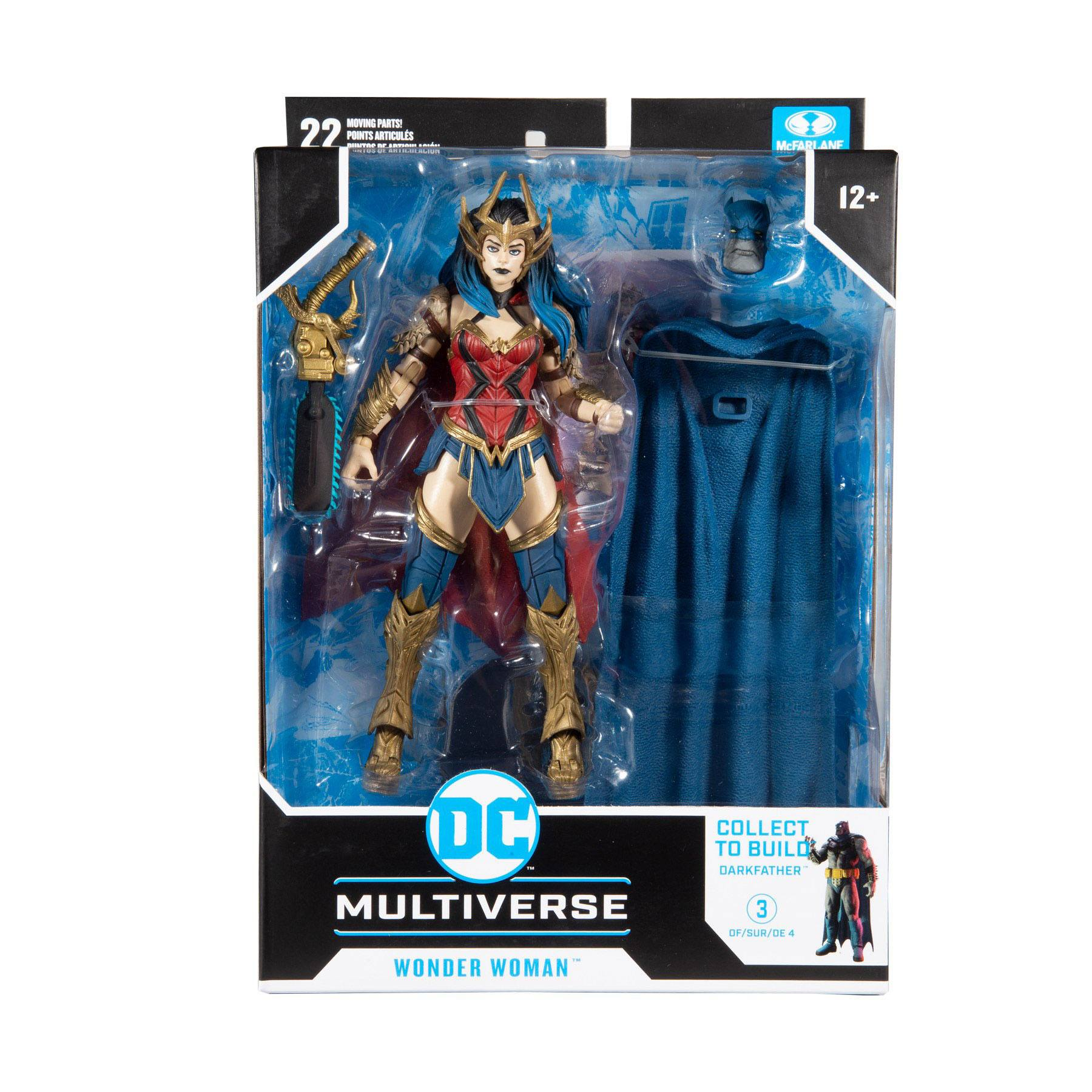 DC Multiverse Build A Actionfigur Wonder Woman 18 cm MCF15418-4 787926154184