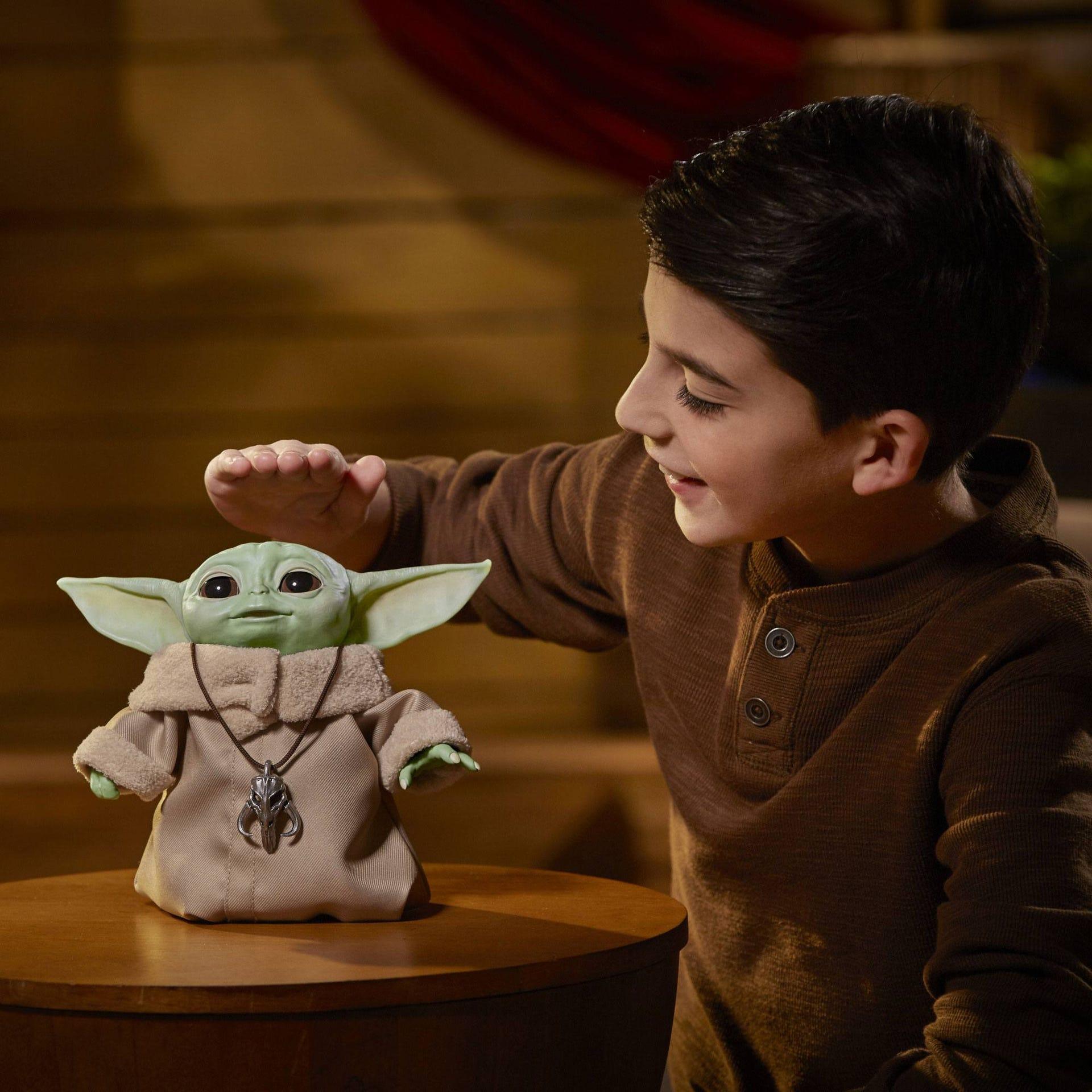Star Wars The Mandalorian Elektronische Figur The Child Animatronic Edition F11195L00 5010993762163
