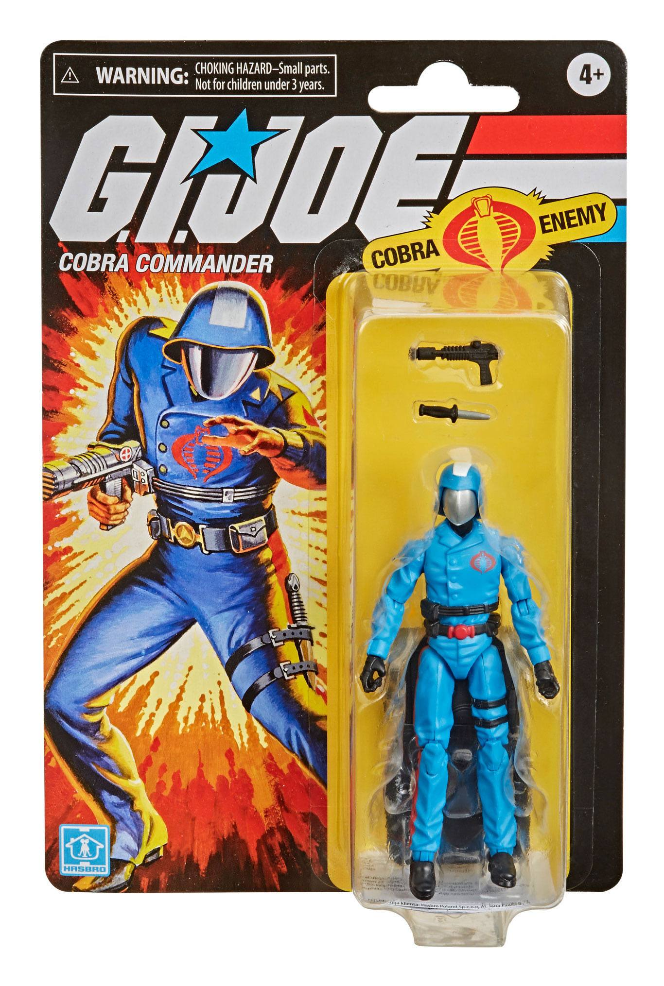 G.I. Joe RETRO Series Action Figure Cobra Commander 9,5 cm  F10025L00 5010993797349