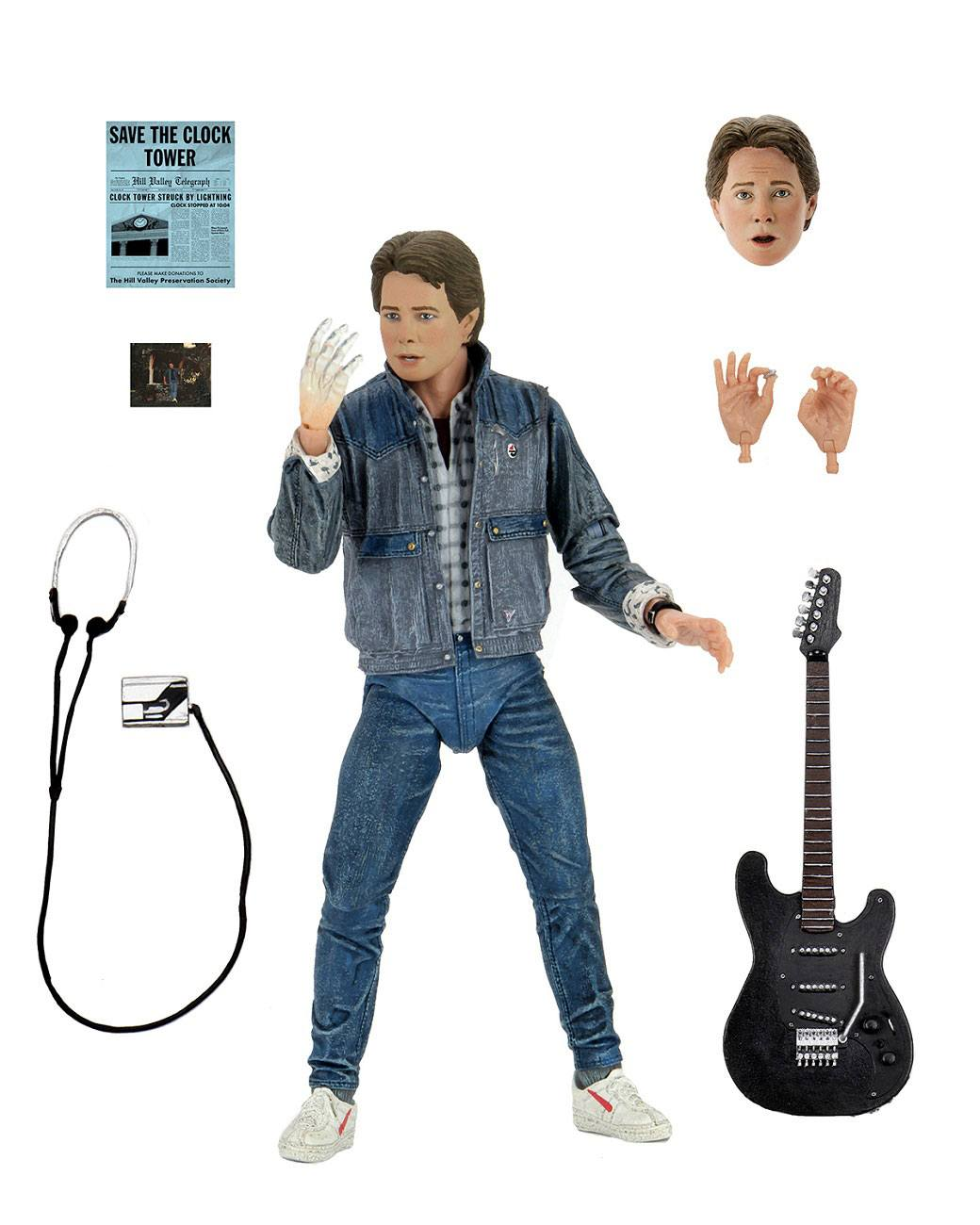 """Back to the Future - 7"""" Scale Action Figure – Ultimate Marty McFly 85' (Audition) NECA53615 634482536155"""