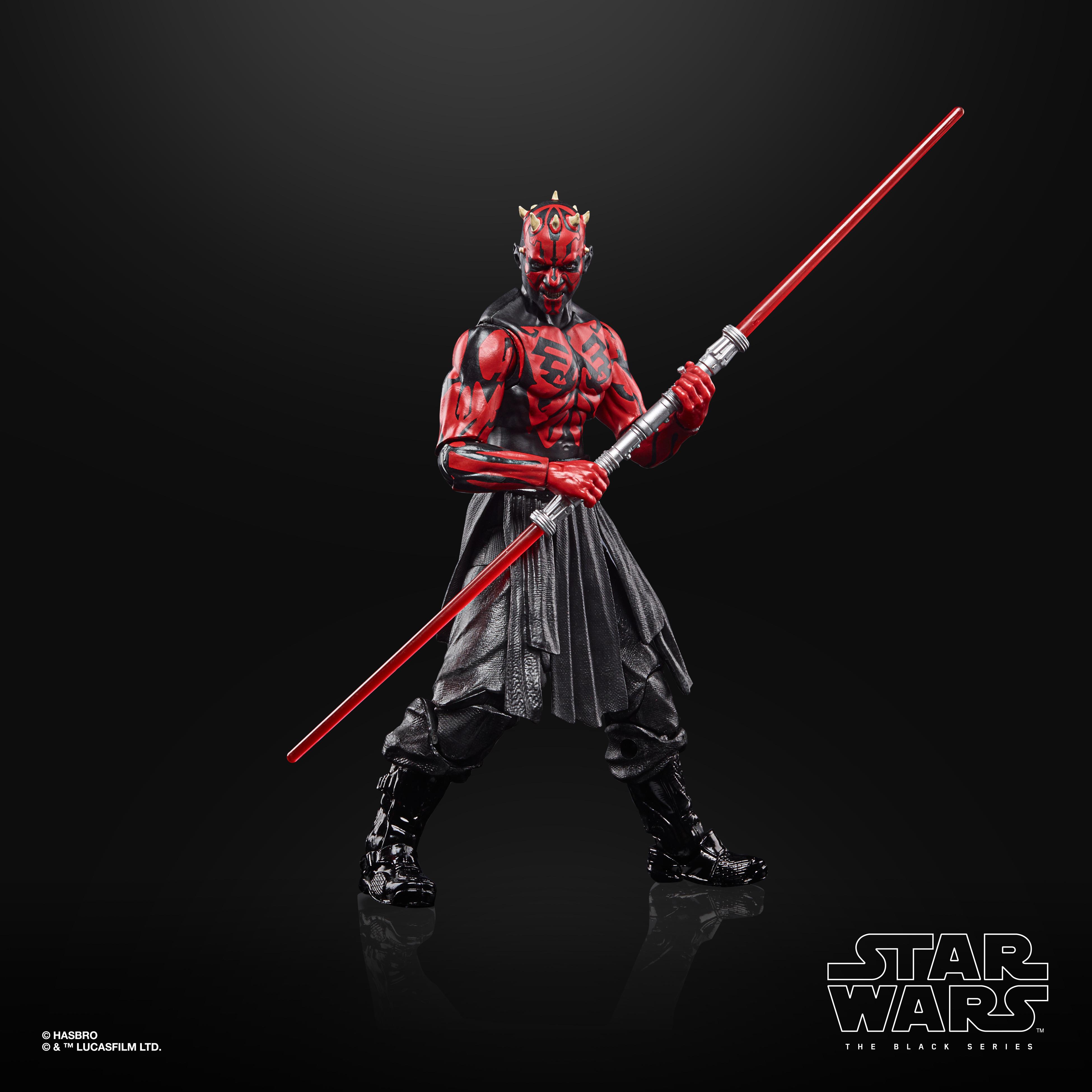 Star Wars The Black Series Darth Maul (Sith Apprentice) LUCASFILM 50TH ANNIVERSARY FIGURE F28145L0 5010993867288