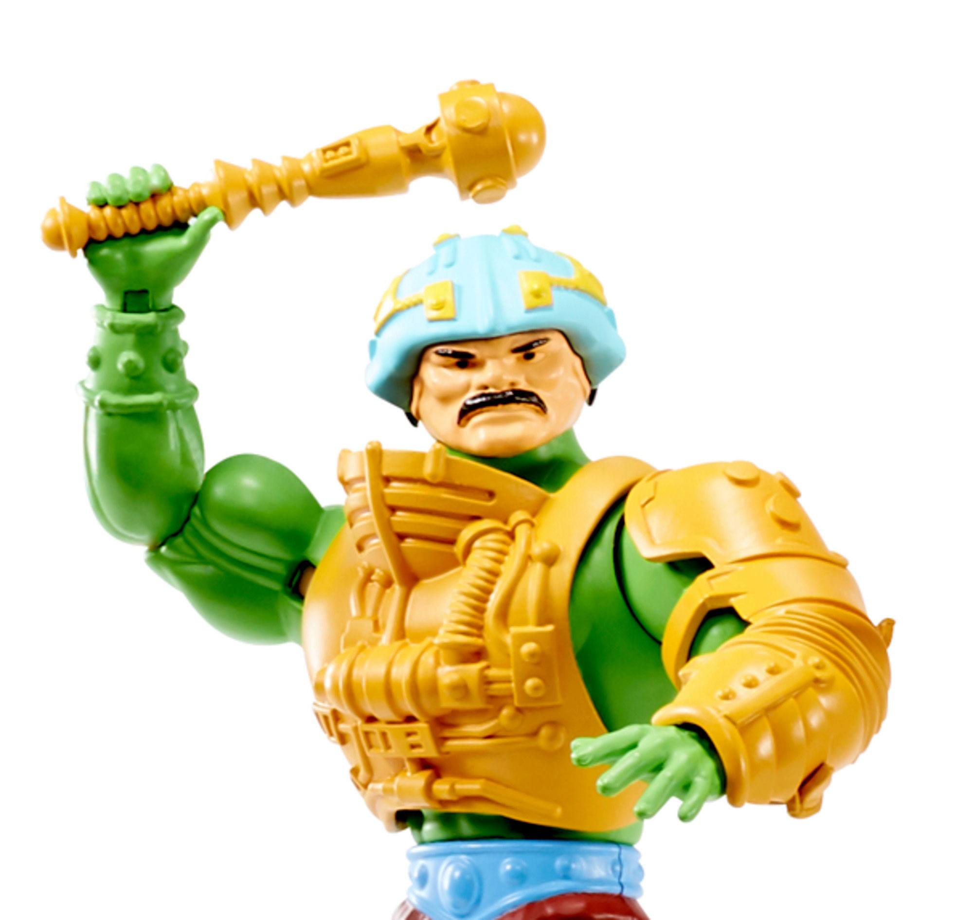 New for 20 Masters of the Universe Origins Actionfigur 2020 Man-At-Arms 14 cm MATTGNN89 0887961875379