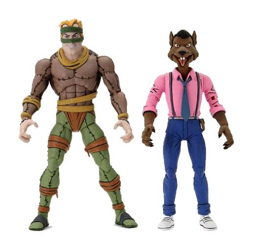 Teenage Mutant Ninja Turtles Actionfiguren Doppelpack Rat King & Vernon 18 cm NECA54162 634482541623