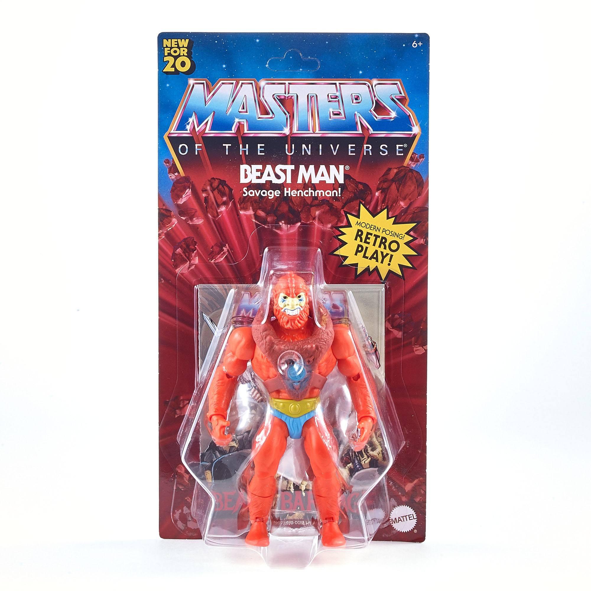Masters of the Universe Origins Actionfigur 2020 Beast Man 14 cm MATTGNN92 0887961875355