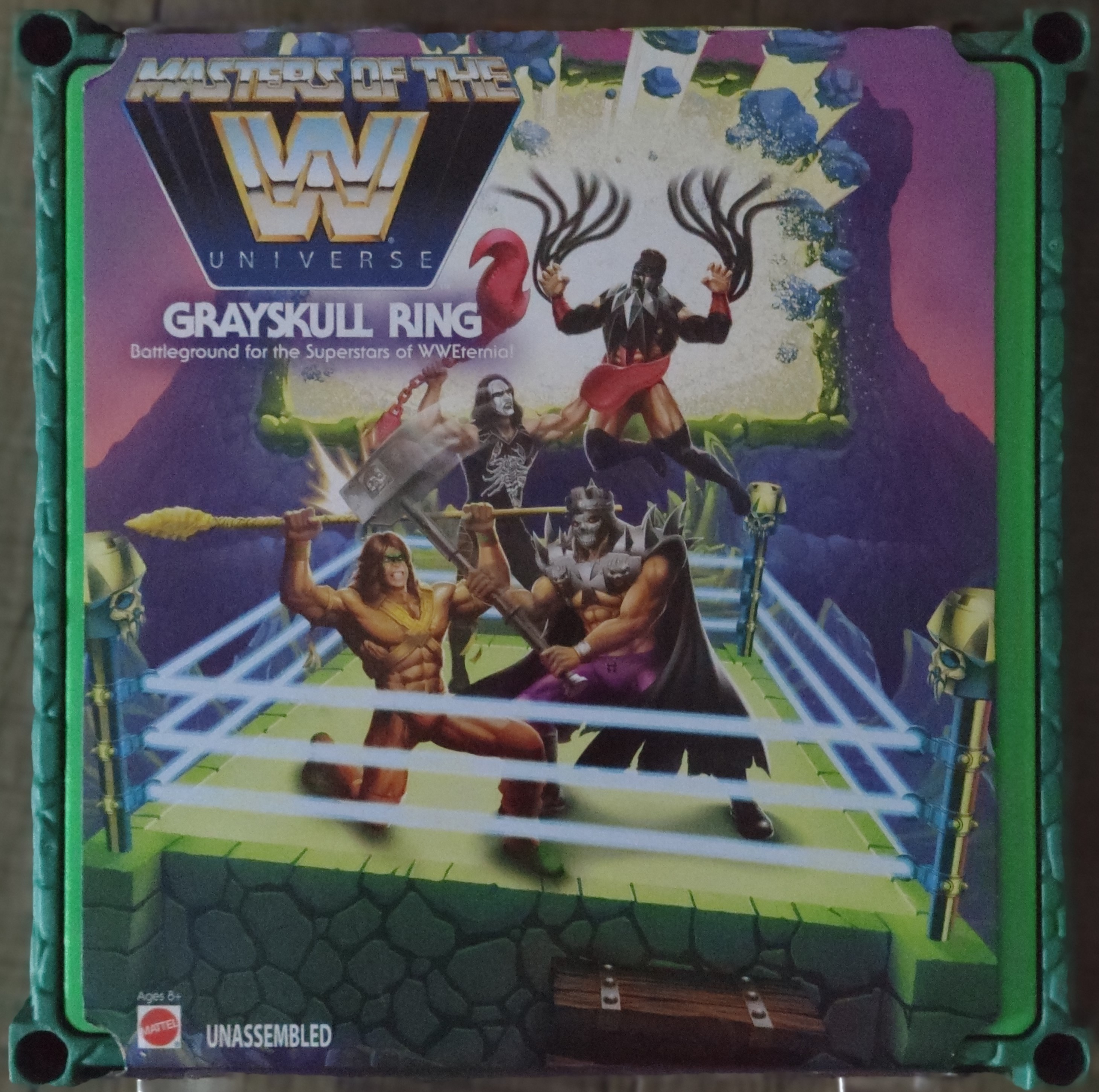 Masters of WWE Grayskull Ring GMN97 887961859621