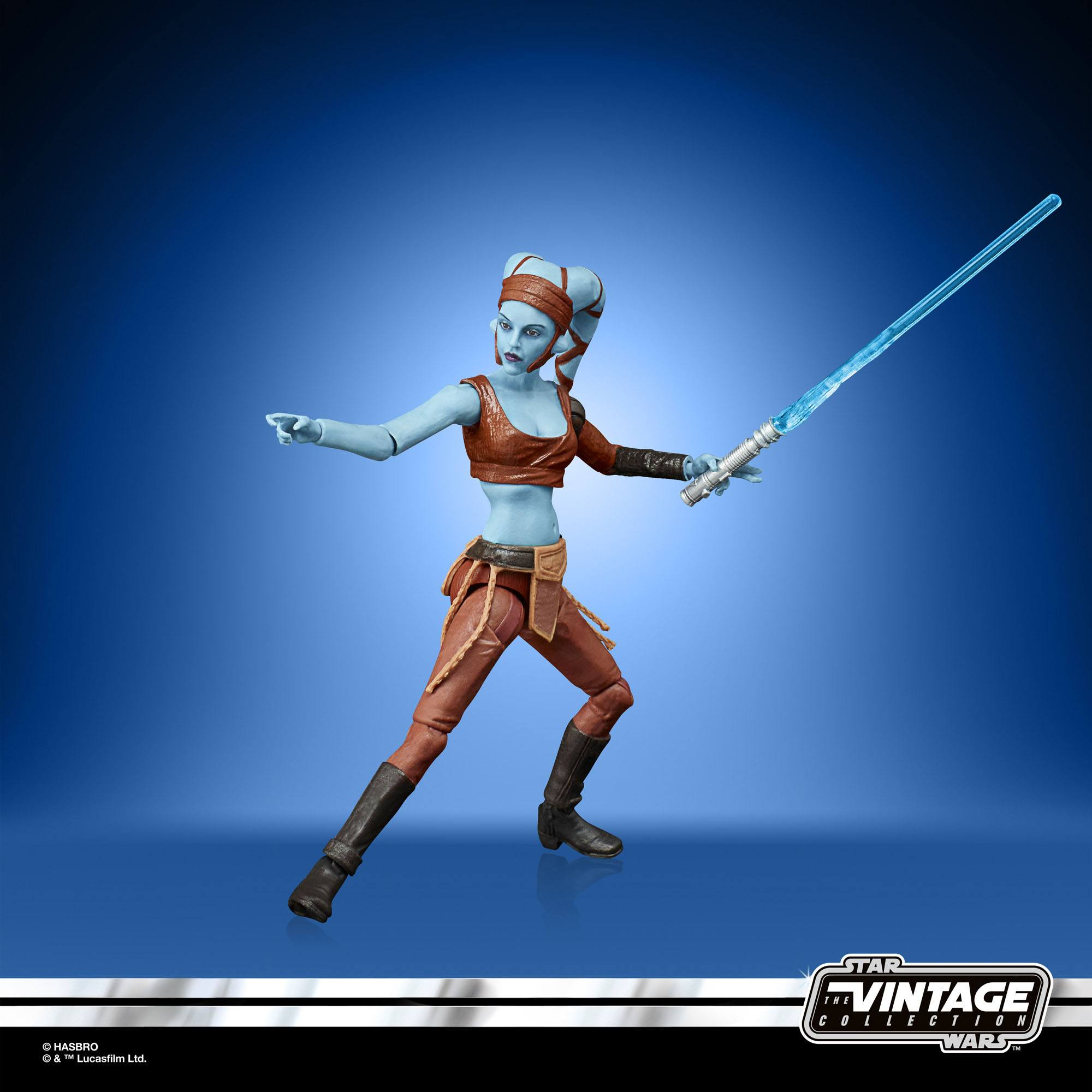 Star Wars The Clone Wars Vintage Collection Actionfigur 2022 Aayla Secura 10 cm F54165L00