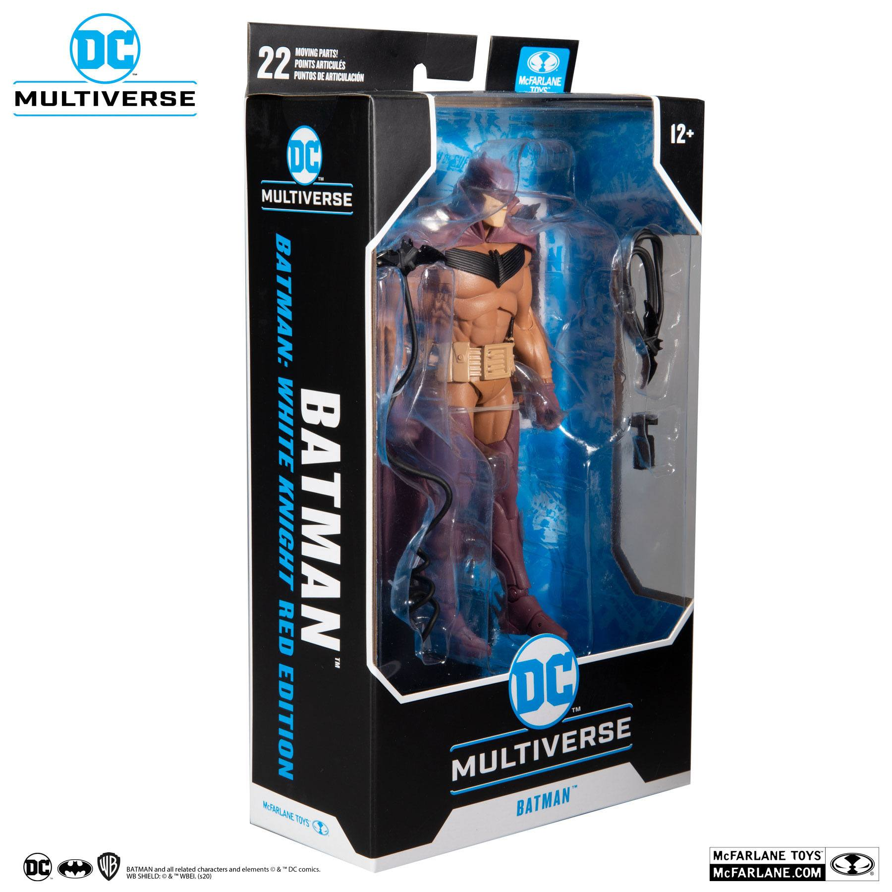 DC Multiverse Actionfigur White Knight Batman (Red Variant) 18 cm MCF15138-1 787926151381