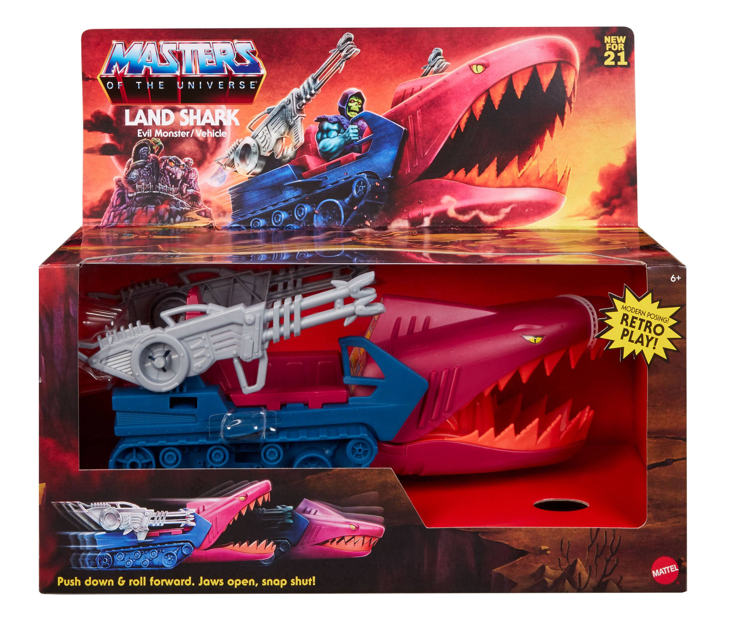 Masters of the Universe Origins Land Shark GXP430 887961960211