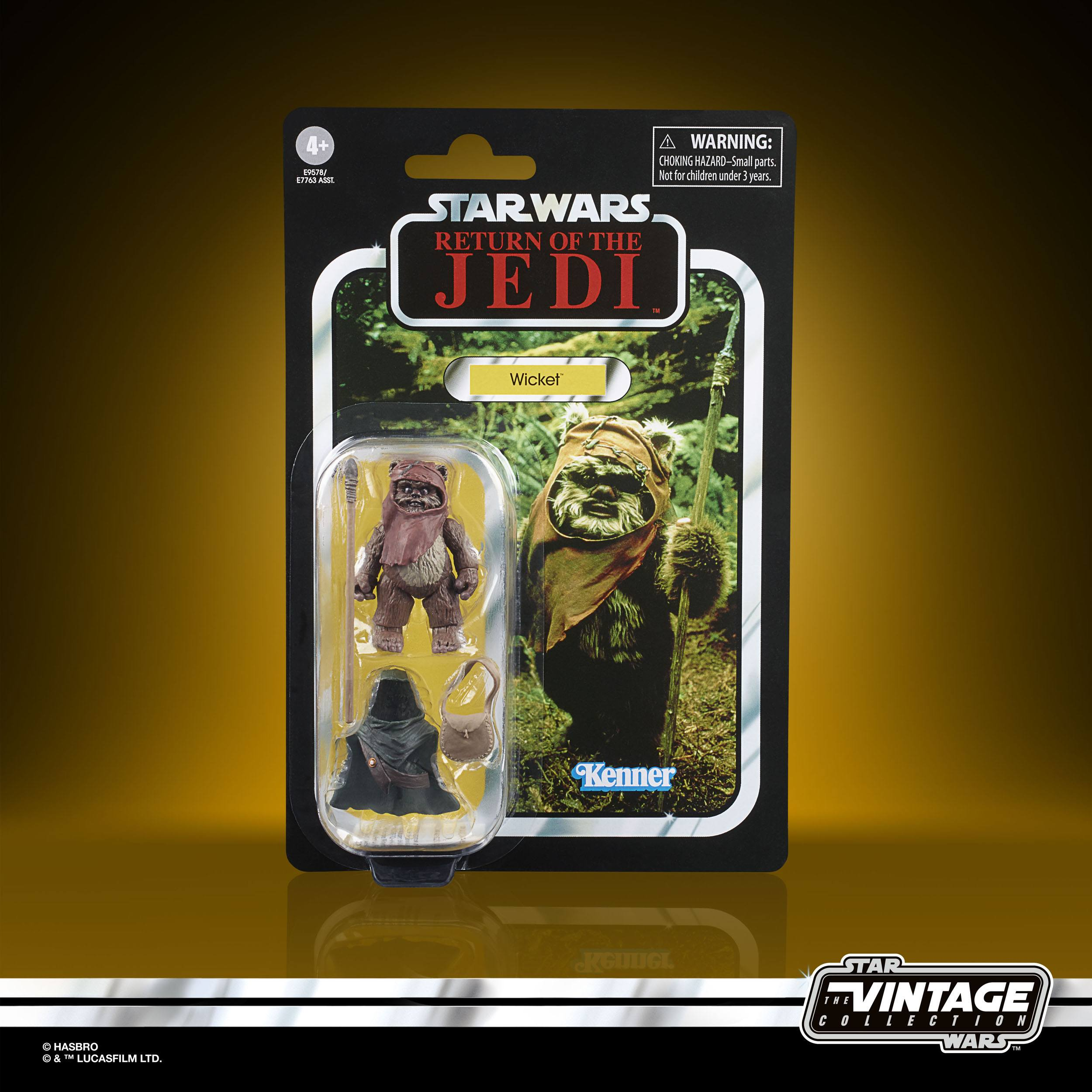 Star Wars The Vintage Collection Wicket 10cm E9578 5010993749591