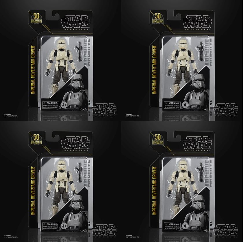 4-Pack Star Wars The Black Series Archive Line Archive Imperial Hovertank Driver 15cm F19065L00  5010993825400