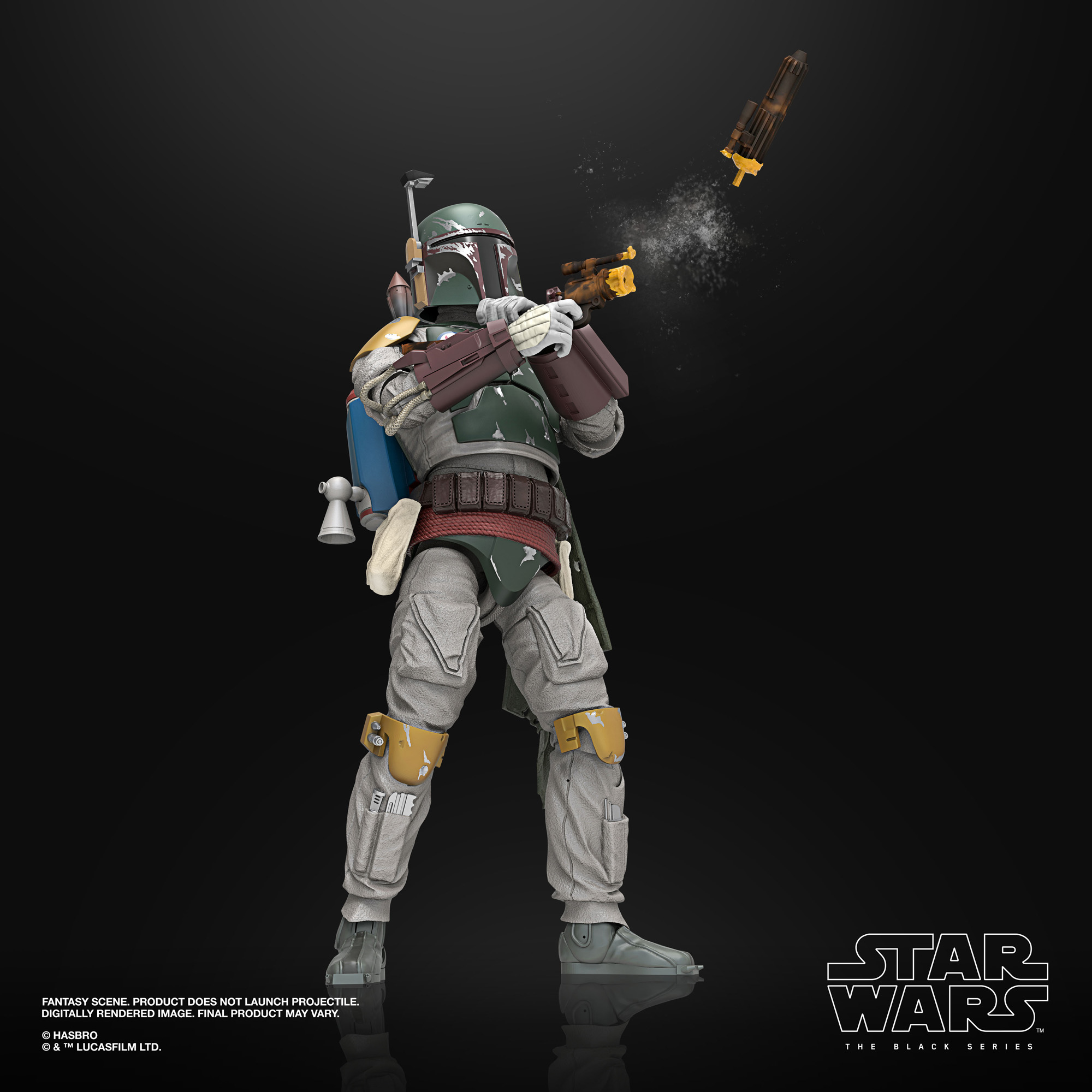 Star Wars The Black Series Boba Fett Deluxe F12715L00 5010993804740