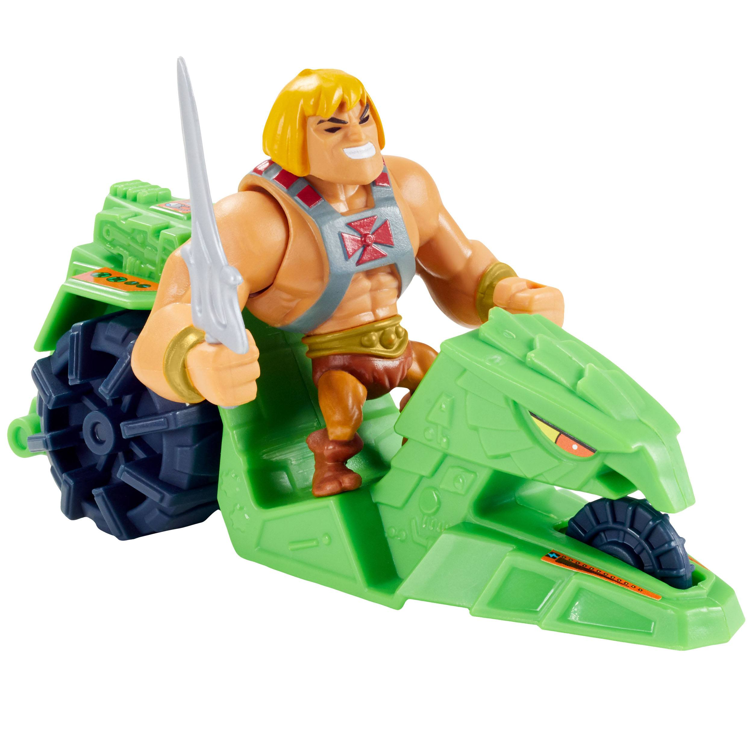 Masters of the Universe Eternia Minis He-Man and Ground Ripper GXP37 887961960204