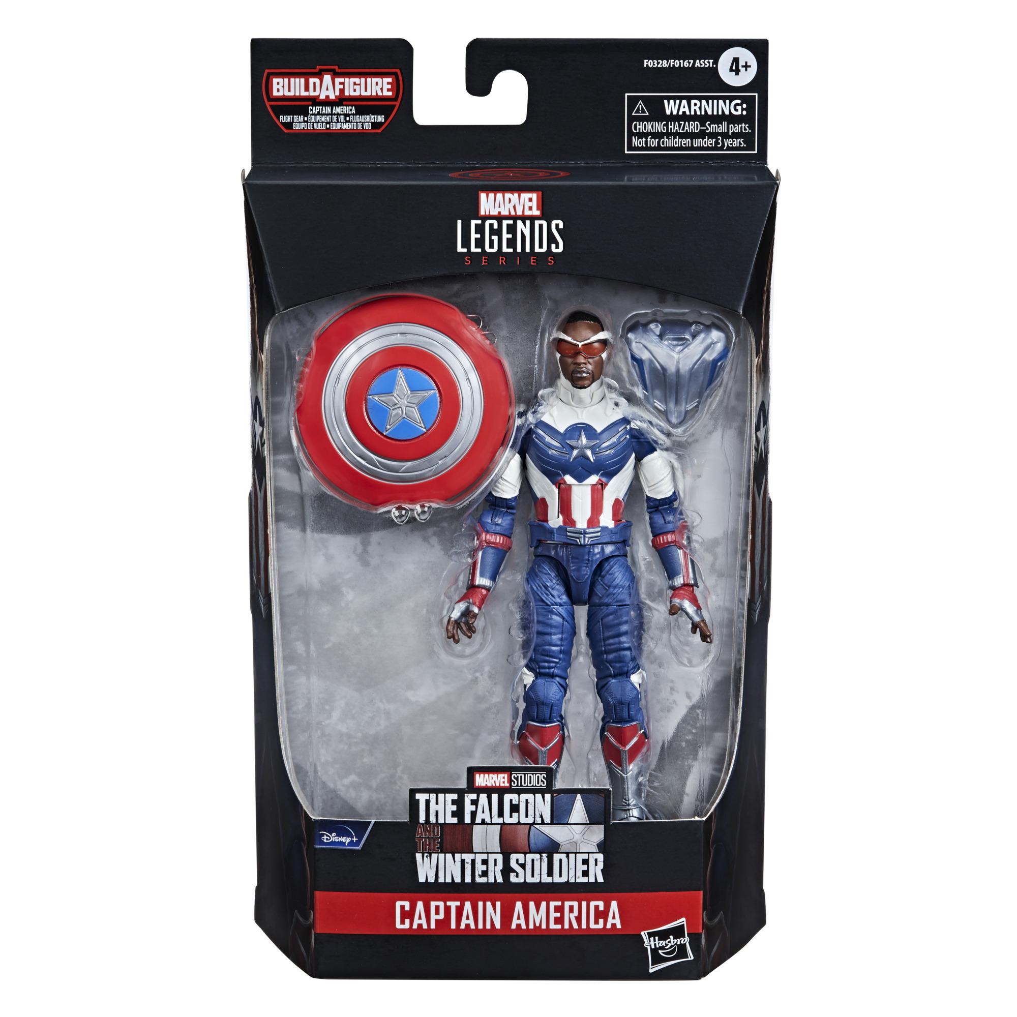 Marvel Legends Series Avengers Captain America: Sam Wilson Build a Figure F0328 5010993791101
