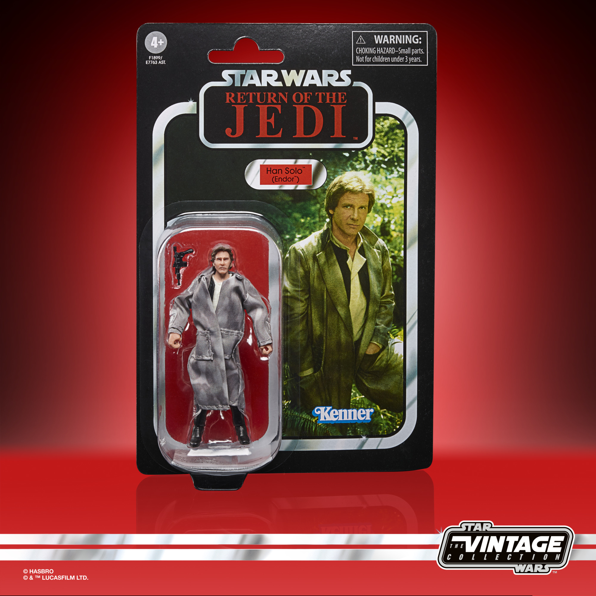 Star Wars The Vintage Collection Han Solo (Endor) 3 3/4-Inch Action Figure F1899 5010993860708
