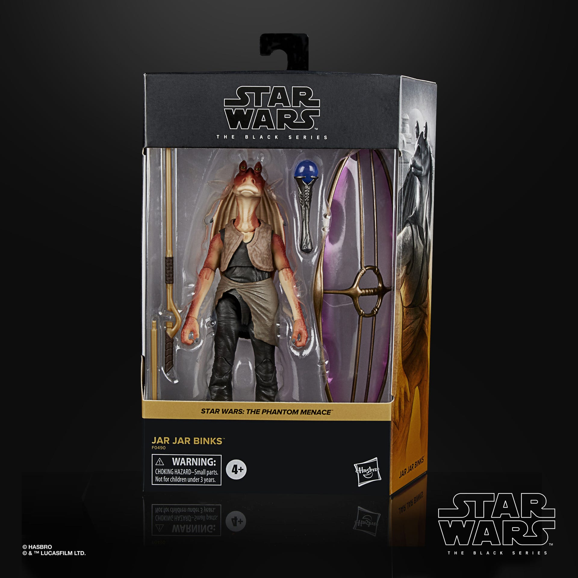 Star Wars The Black Series Jar Jar Binks Deluxe Figur 15 cm F0490 5010993782680