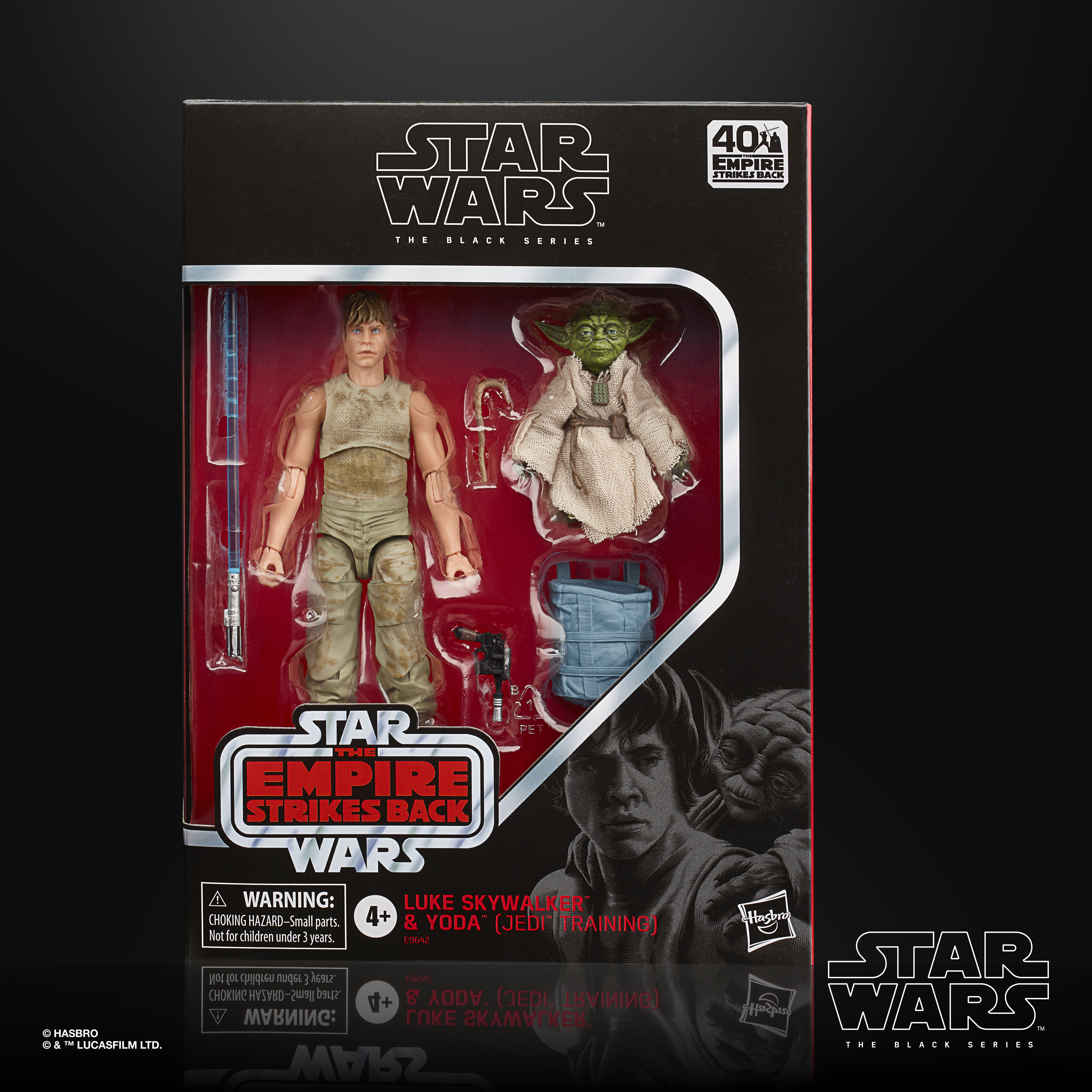Star Wars The Black Series Luke & Yoda (Jedi Training) Exclusive E9642 5010993722839